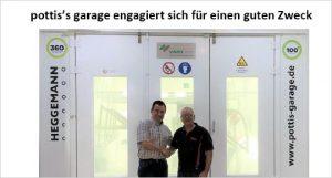 Mathias Hornberger und Geschäftsführer Udo Pott